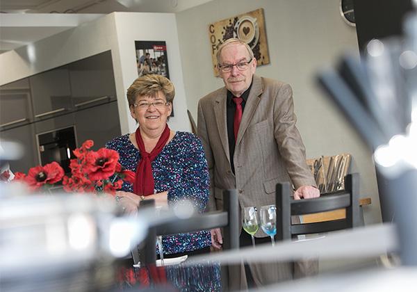 Das Ehepaar Hallen freut sich auf Ihren Besuch